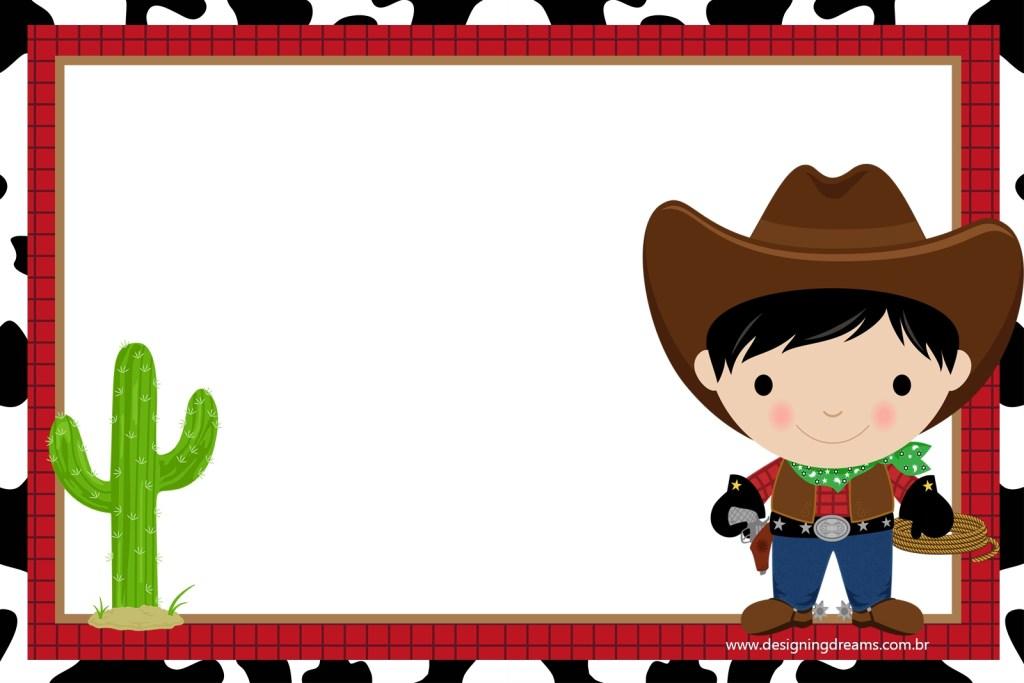 cowboy babiesfree printable invitations free party