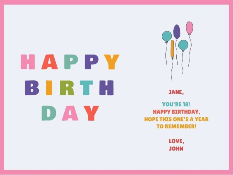 customize our birthday card templates hundreds to choose from