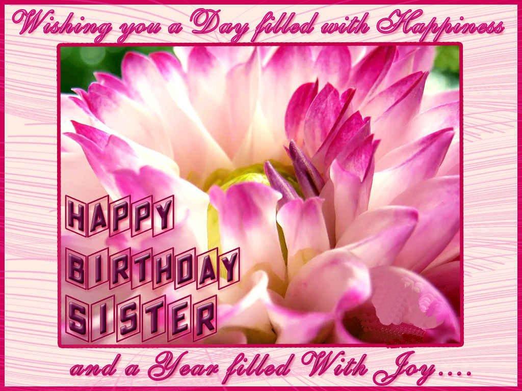 free download happy birthday sister greeting cards hd wishes