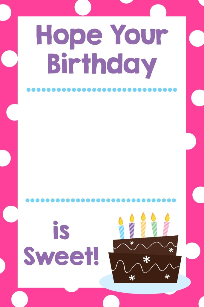 free printable birthday cards that hold gift cards crazy