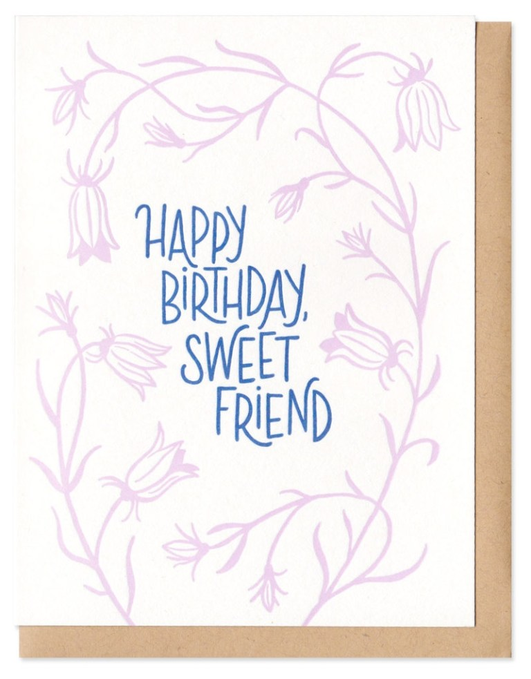 frog toad press happy birthday sweet friend greeting card