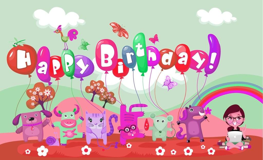 funny birthday wallpaper anime birthday card wallpaper hd