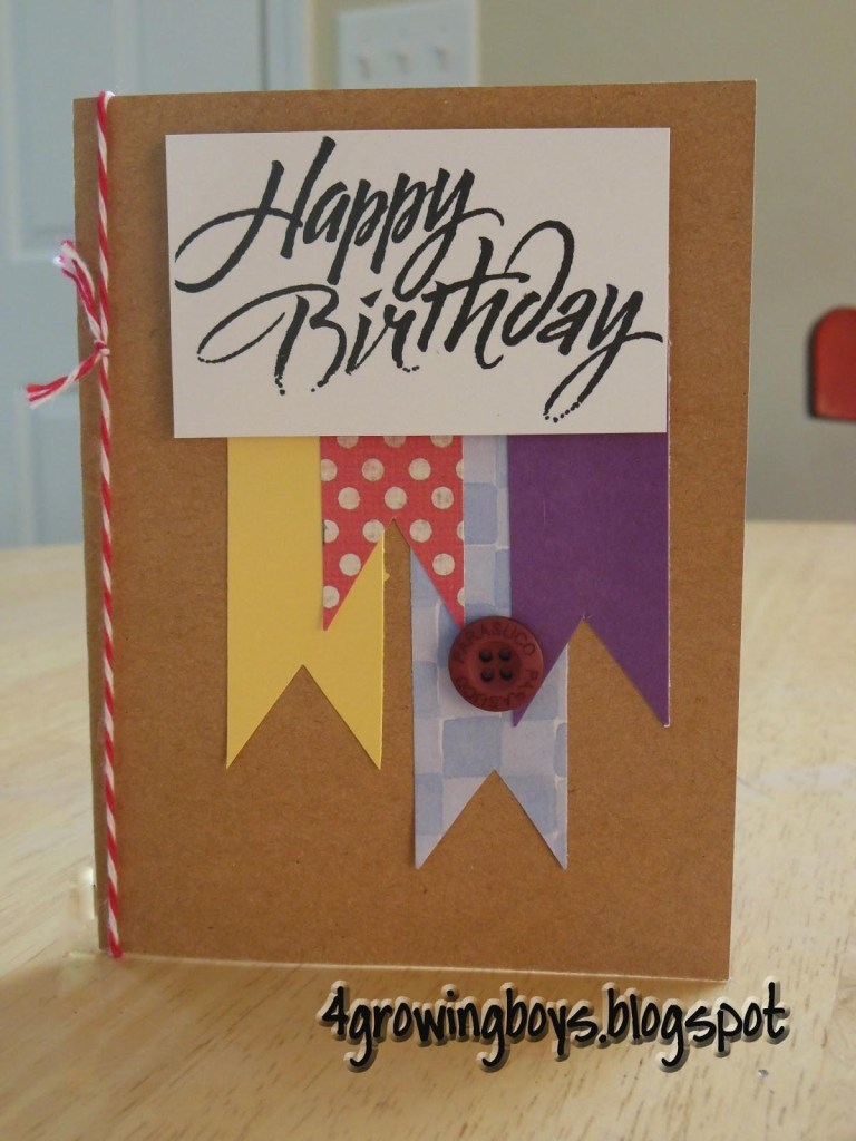 growing boys homemade birthday cards decoratorist 152240