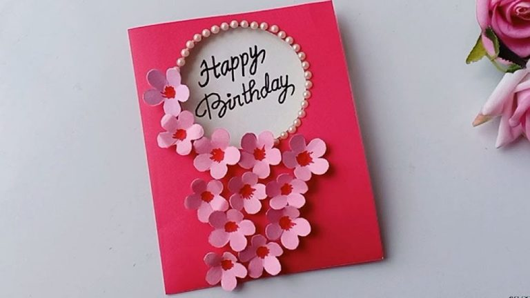 how to make birthday cardhandmade birthday card