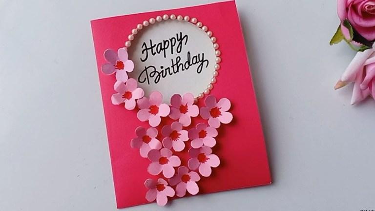 how to make birthday cardhandmade birthday card