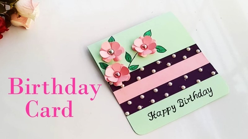 how to make birthday special card for sisterdiy gift idea