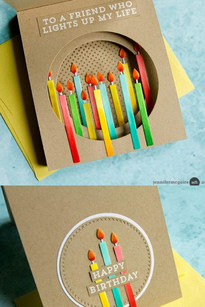 inside tunnel cards handmade birthday cards homemade