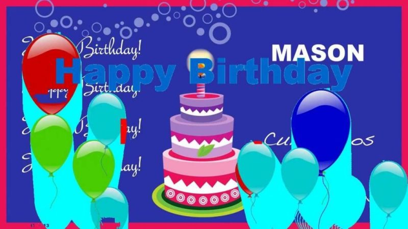 mason animated cards happy birthday