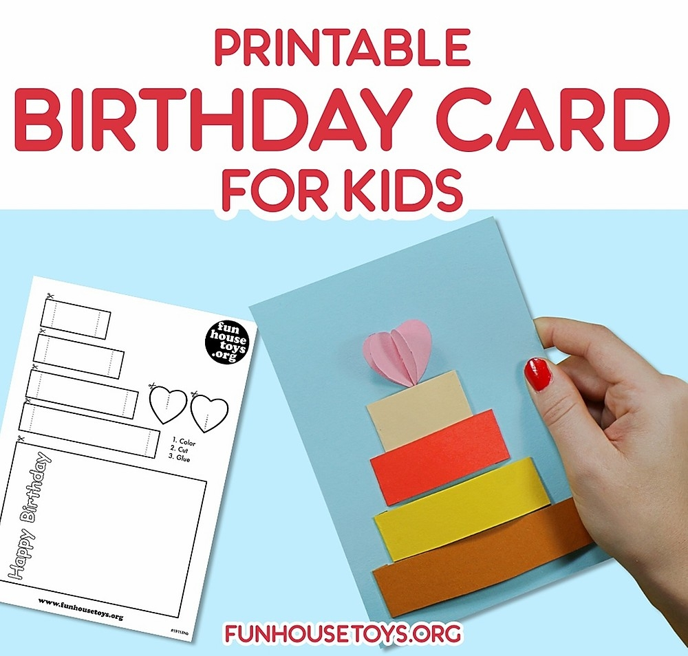 printable birthday card for kids