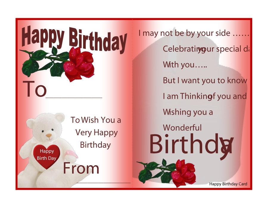 sample birthday card franklin