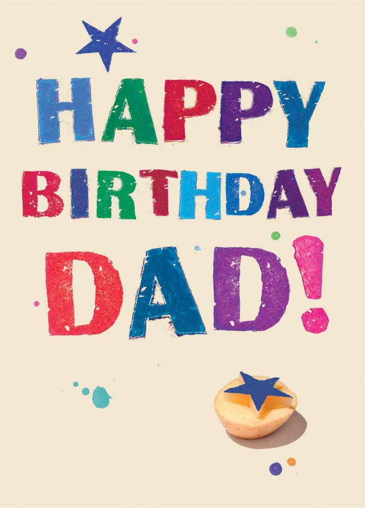 the collections of different happy birthday dad cards