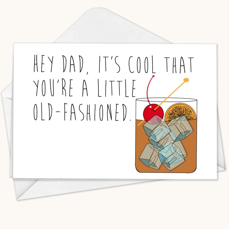 funny fathers day cards on etsy time
