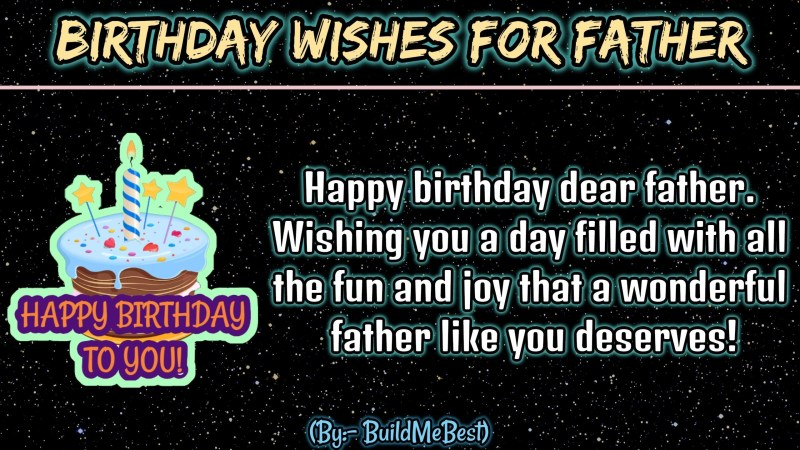 happy birthday dad wishes father greeting cards for