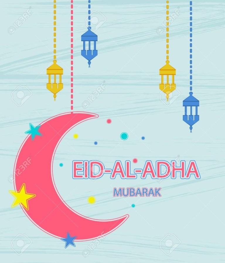 eid al adha greeting card