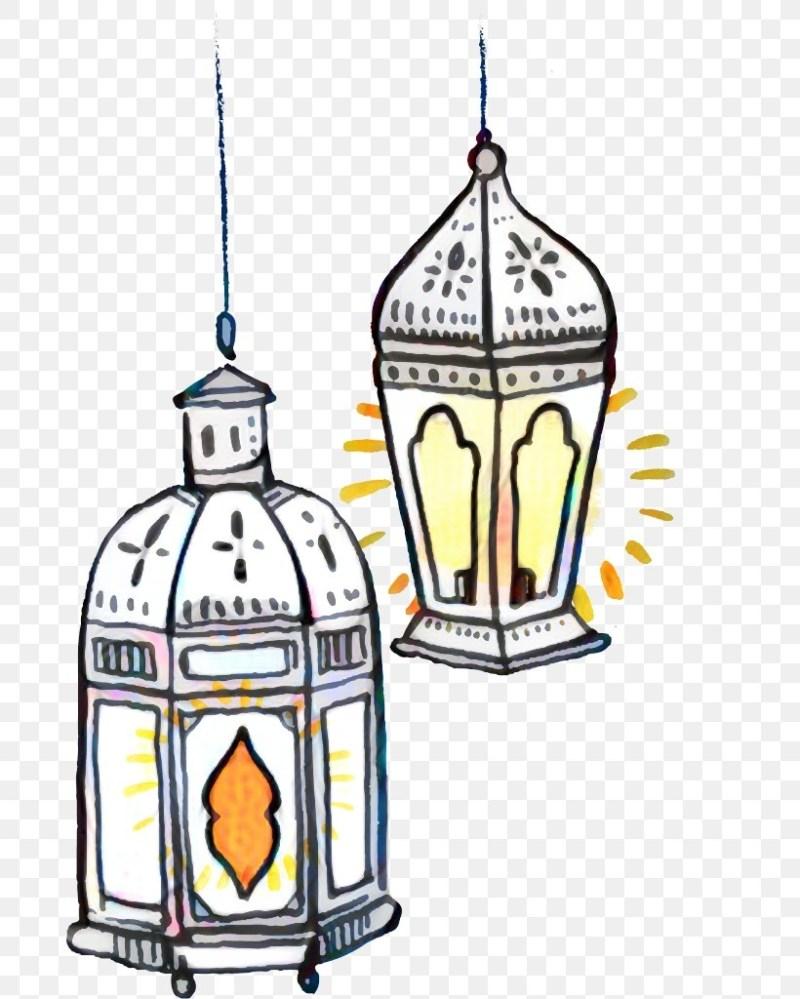 mosque lamp eid al transparent vector
