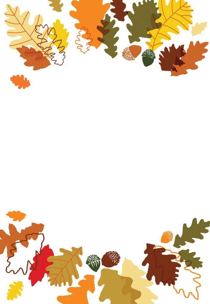 blank thanksgiving invitation