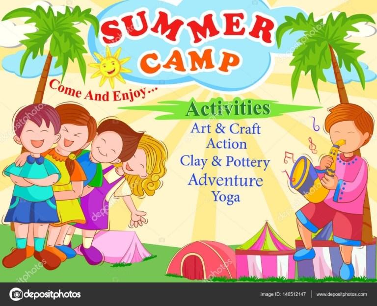 summer camp poster ideas