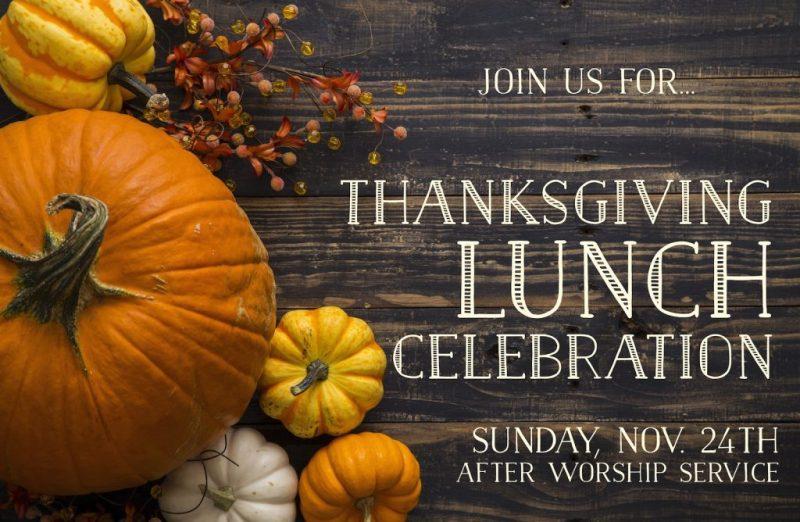 thanksgiving celebration 2020 announcement