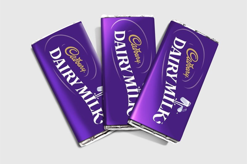 chocolate bar packaging in psd