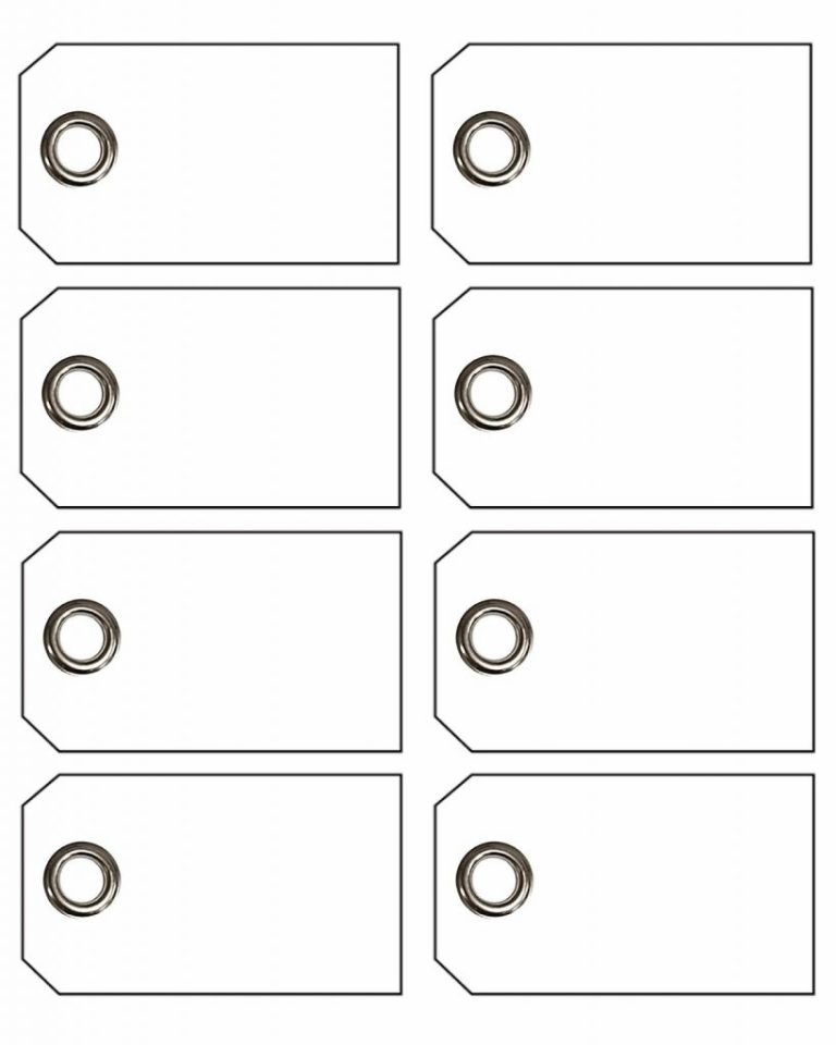 eyelets price tag template word