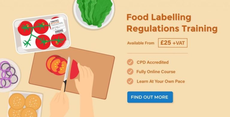 food packaging labels requirements