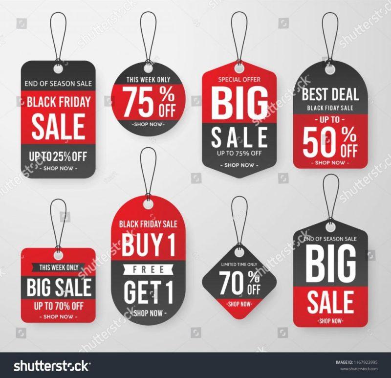 printable price label template