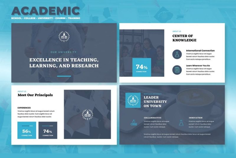 academic presentation templates