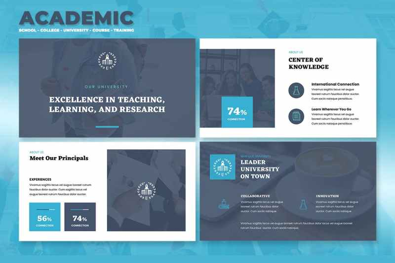academic presentation templates