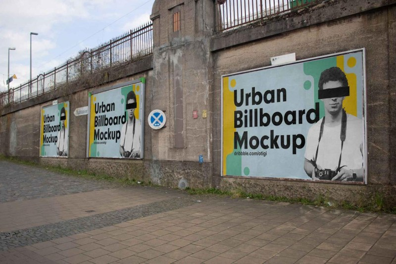 free urban billboards mockup psd all at your fingertips
