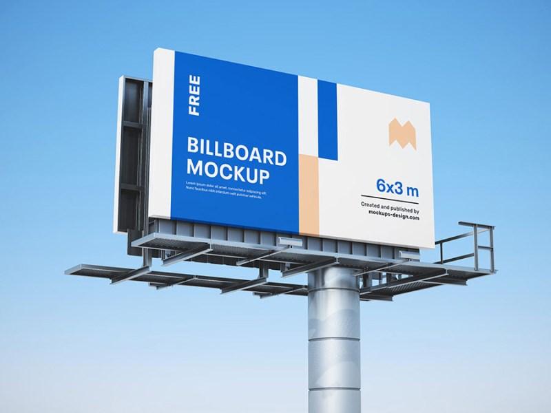 free billboard mockups psd mockuptree