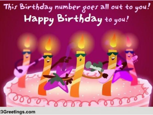 free funny animated birthday cards with music a singing