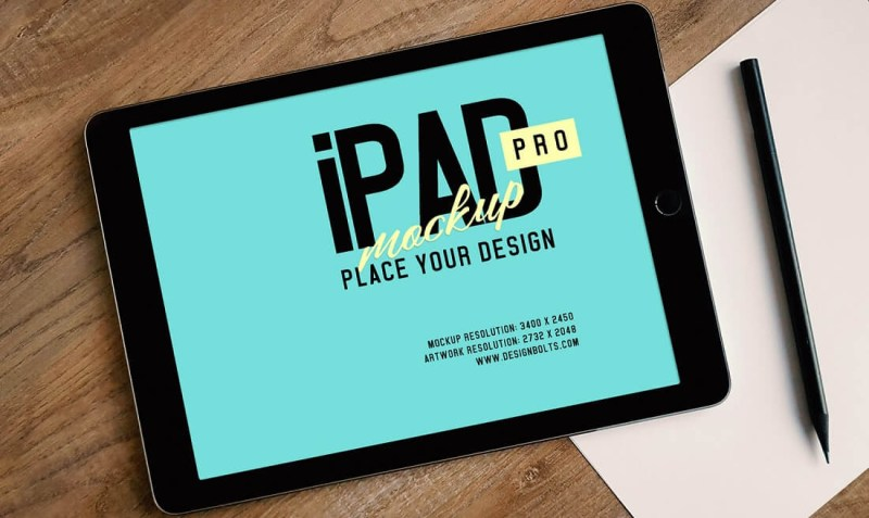 free ipad pro psd mockup free download mockup