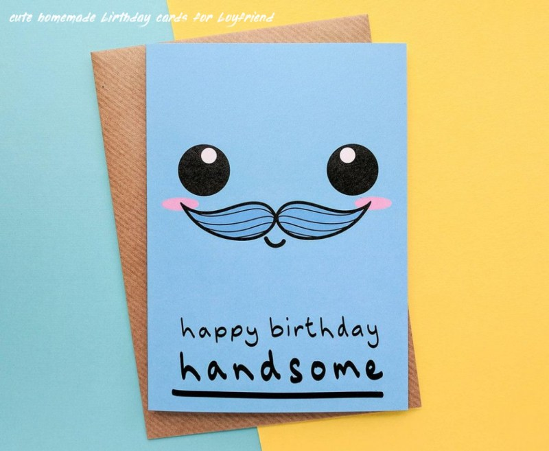 6 cute homemade birthday cards for