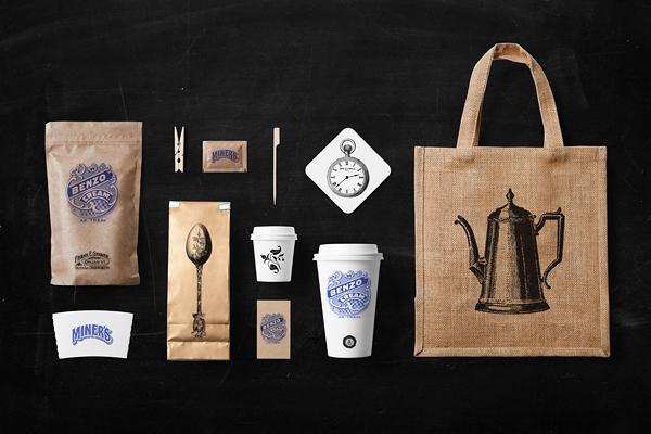 coffee restaurant stationery mock up on behance