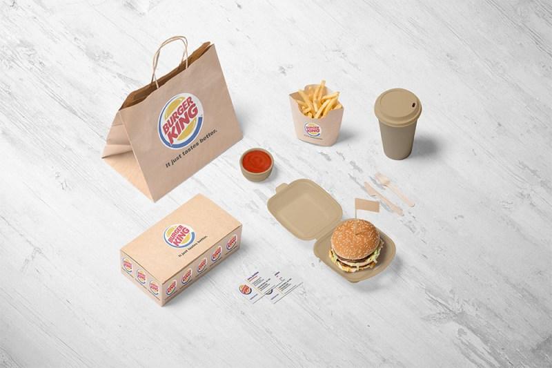 free download burger branding psd mockup designhooks