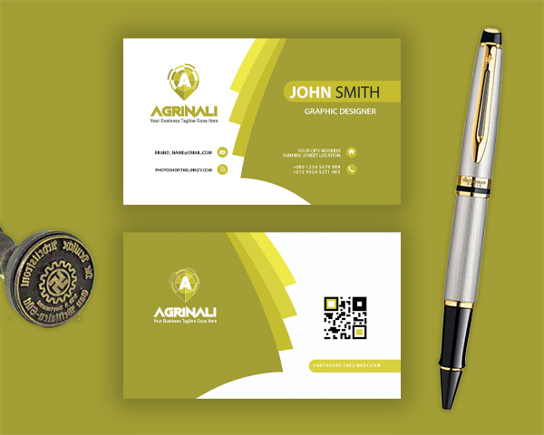 agrinali photoshop business card template download links