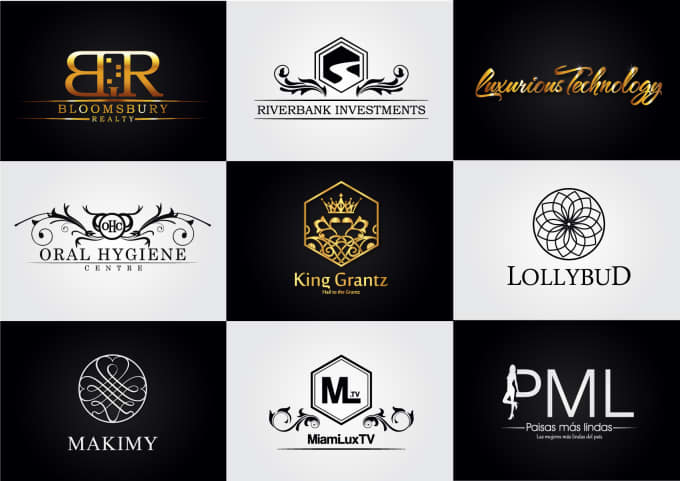 do a luxury logo design with all files in 48h skydesigner
