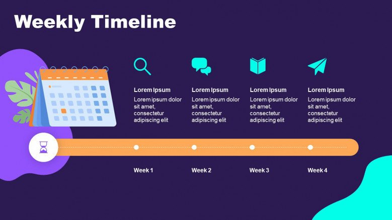 event schedule template free powerpoint template