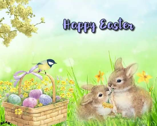 may your basket free happy easter ecards greeting