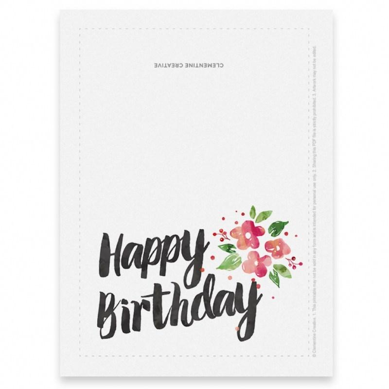 printable birthday cards for mom printable card free