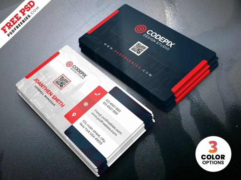 psd clean business card design templates psd freebies