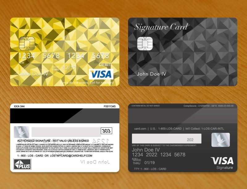 bank card credit card plus psd template donation zamartz