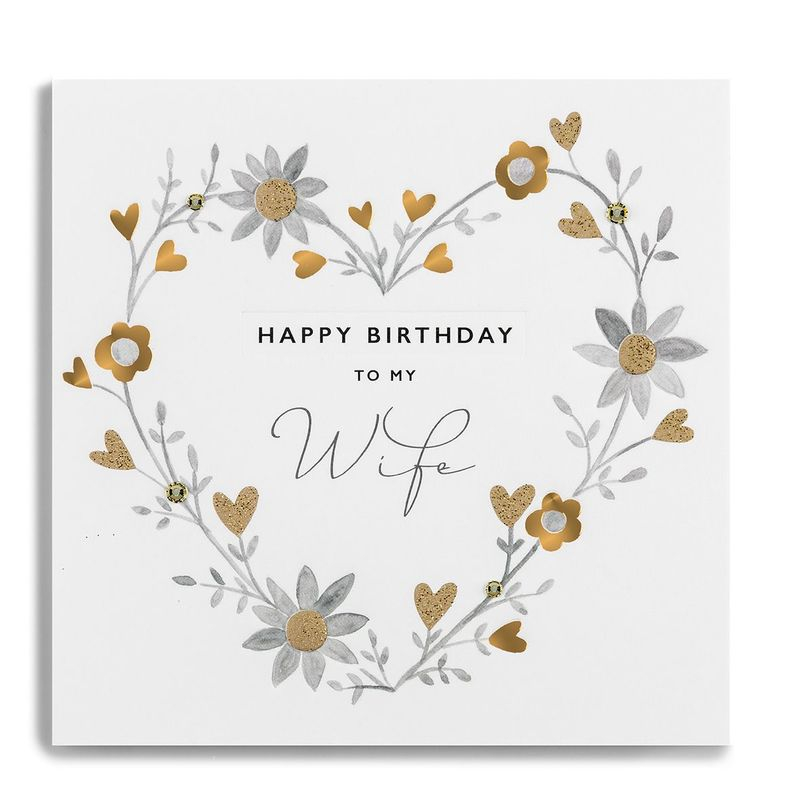 birthday cards for wife card design template