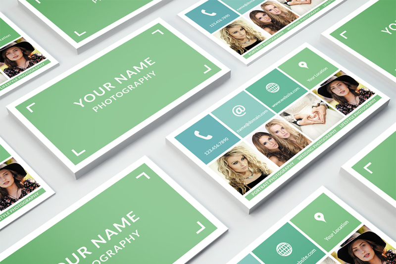 business card template 001 for photoshop nm design