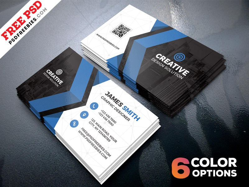 free business cards templates psd bundle psd freebies