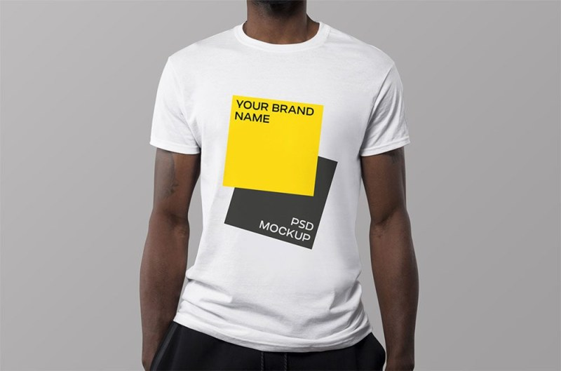 free photo realistic t shirt mockup psd 2020 justmockup