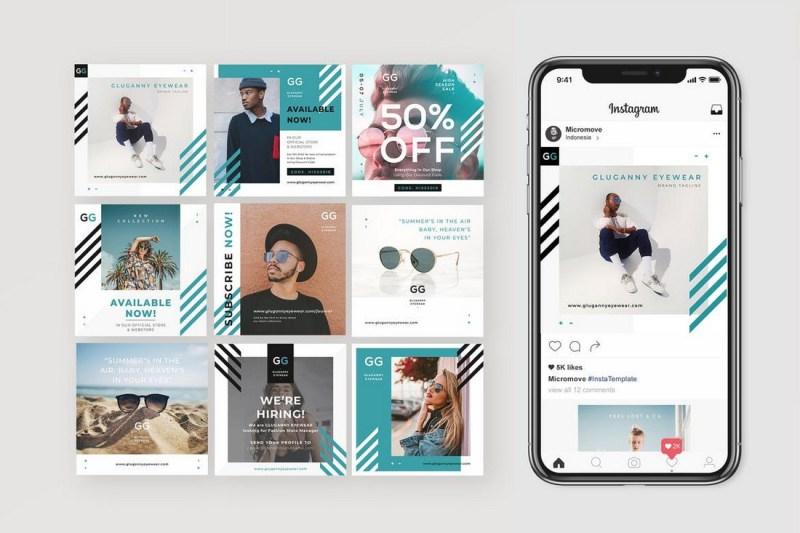instagram templates design shack