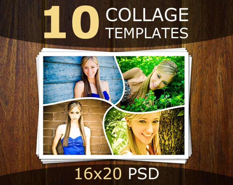 photoshop collage templates photo collage templates