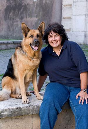 Henry and his trainer, Teresa Ann Miler