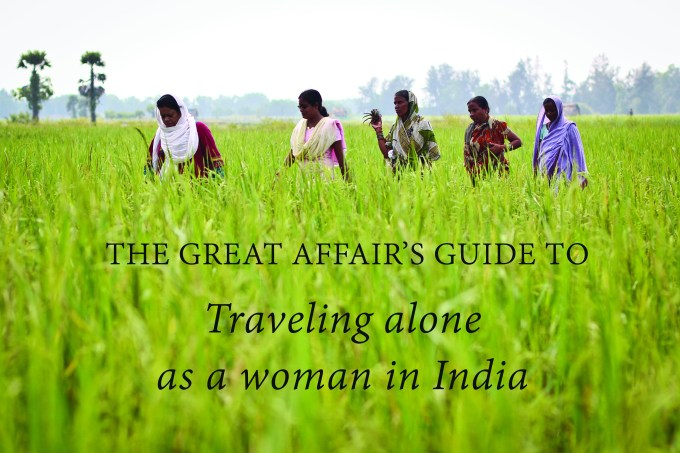 India travel guide for solo female travelers